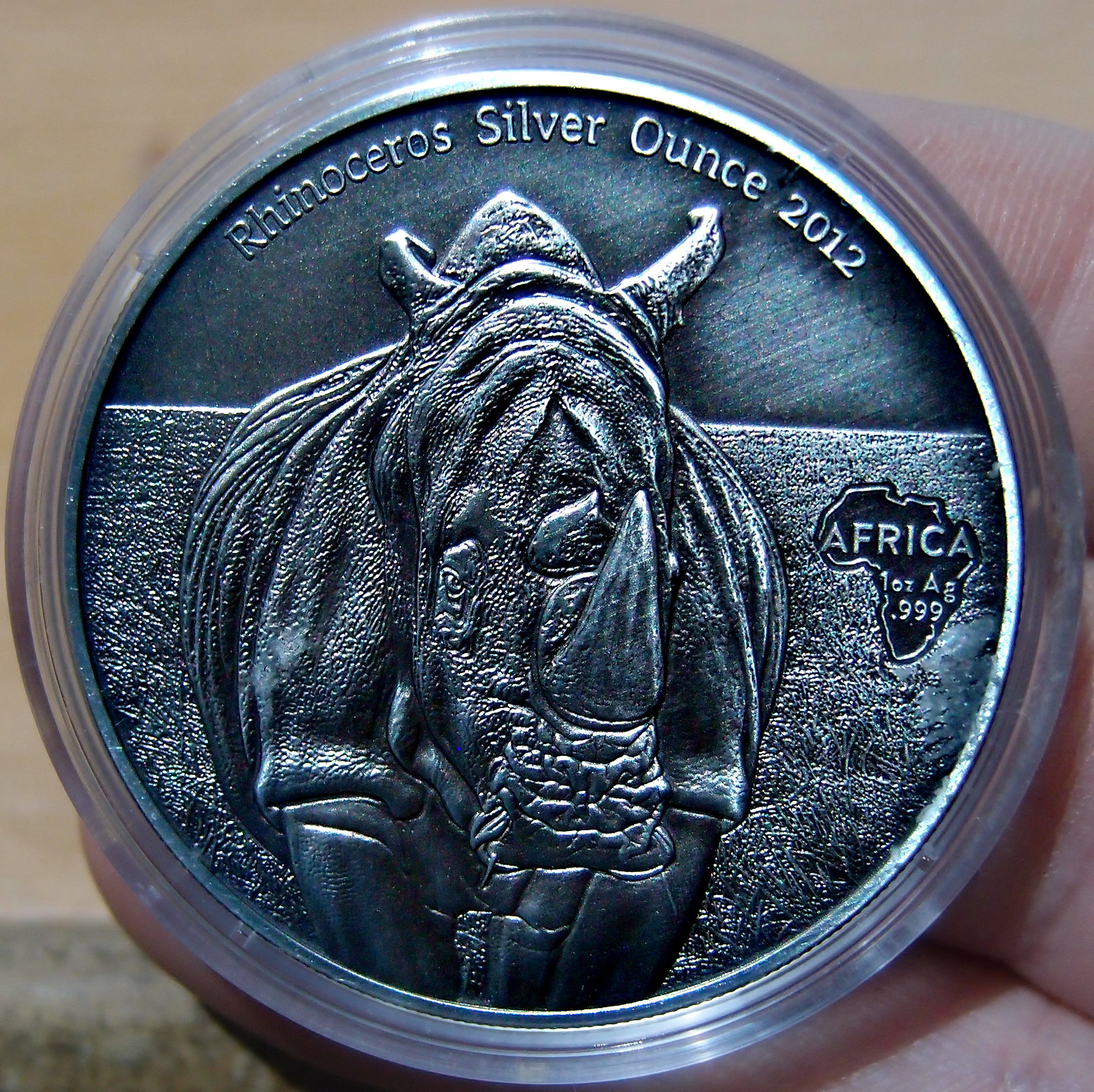 African Silver Ounce Serie  10025218384_a0bfd0d1ed_h