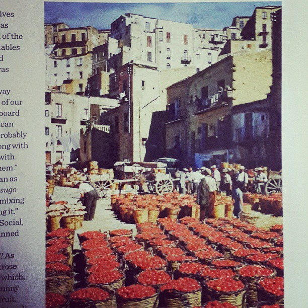 #basketsoftomatoes in #southernitaly. Thx @waitrose