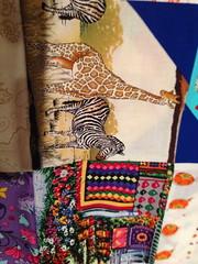zebra, quilts
