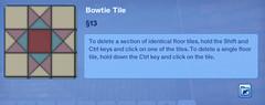 Bowtie Tile