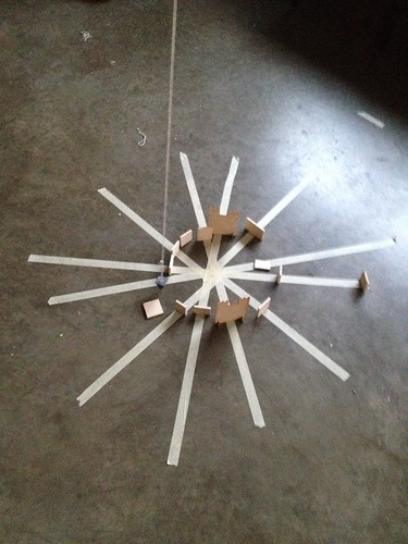Thirty Days of Making: Foucault's pendulum