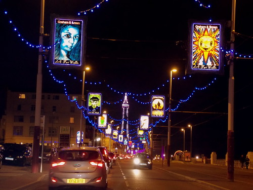 Blackpool Illuminations in Lancashire, England - October 2013