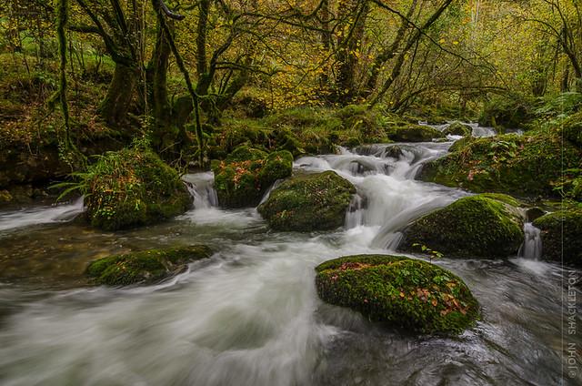 Otoño en la Foz del Río Infierno, Asturias
