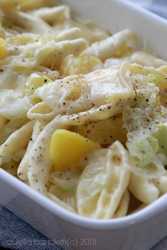 Cavatelli Verza e patate Mangiare Matera