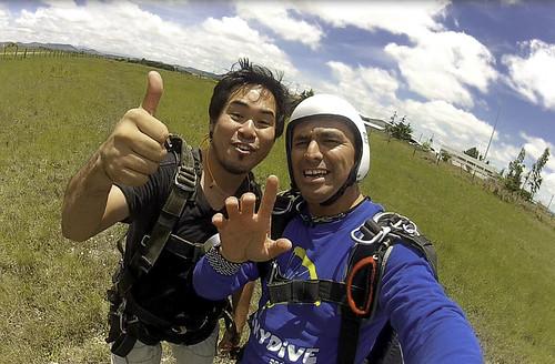 Salto en paracaídas - Eduardo (60)