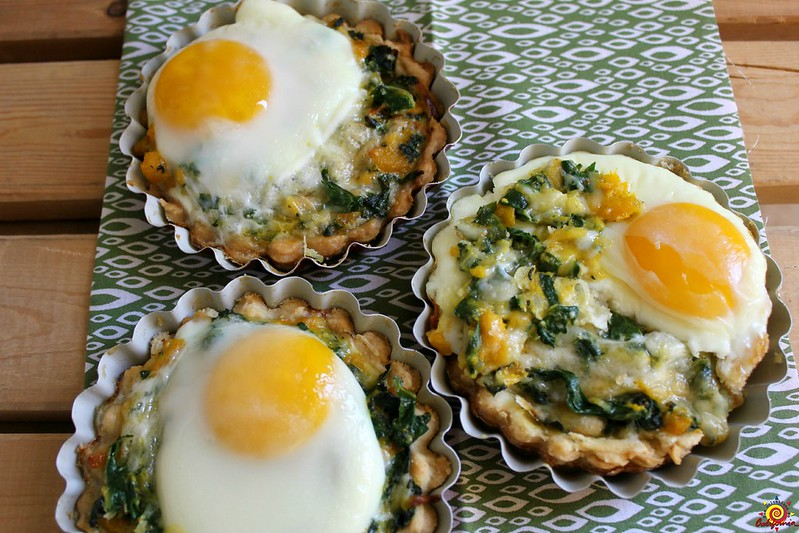 tartas de acelga y huevo
