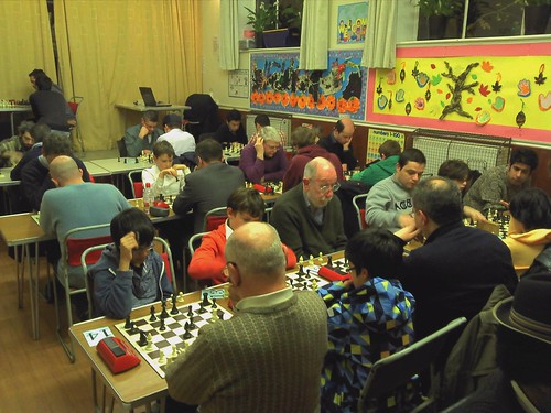 Hendon chess club blitz 051213