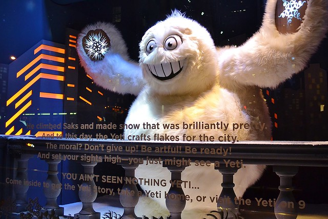 Saks 2013 Holiday Show Windows