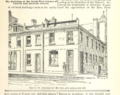 """British Library digitised image from page 163 of """"Robertson's Landmarks of Toronto. A collection of historical sketches of the old town of York from 1792 until 1833 (till 1837) and of Toronto from 1834 to 1893 (to 1914) . Also ... engravings ... Published"""