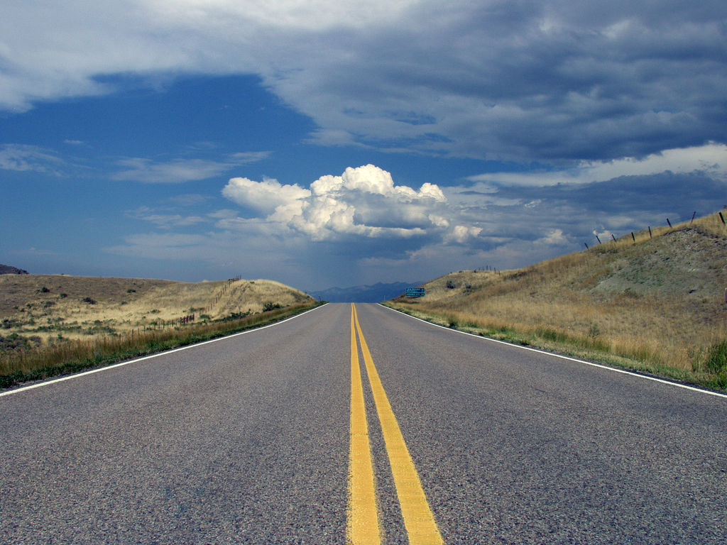 2. Horizontes de grandeza. Montana. Autor, Mark Hamilton