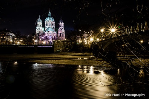 Sankt Lukas Church, Munich, Germany by Dirk Mueller Photography