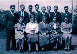 The James family in  approximately 1938