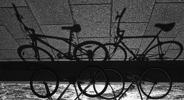 Bike's shadows