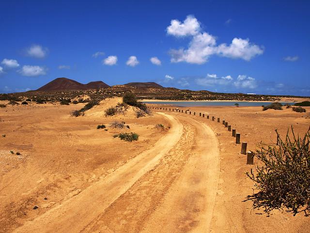 Roads, La Graciosa, Lanzarote