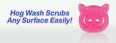Scrubs any surface easily