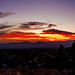 Small photo of Sunset over Altadena