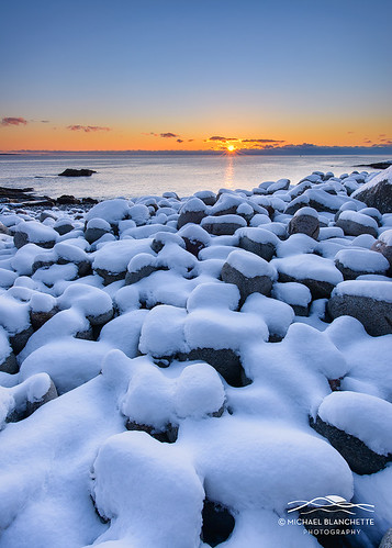 Snowy Pebbles