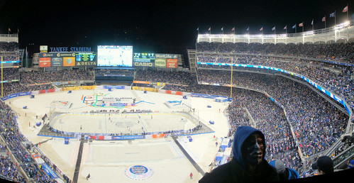 029/365 Surreal Yankee Stadium Series Rangers vs. Islanders