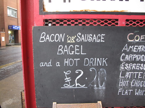 Bacon 'or' Sausage