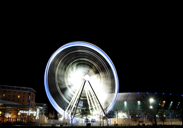 Liverpool Wheel by Night