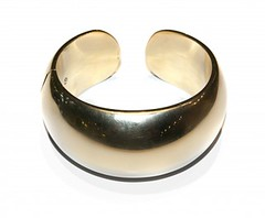 GOLD BANGLE BY ASPREY