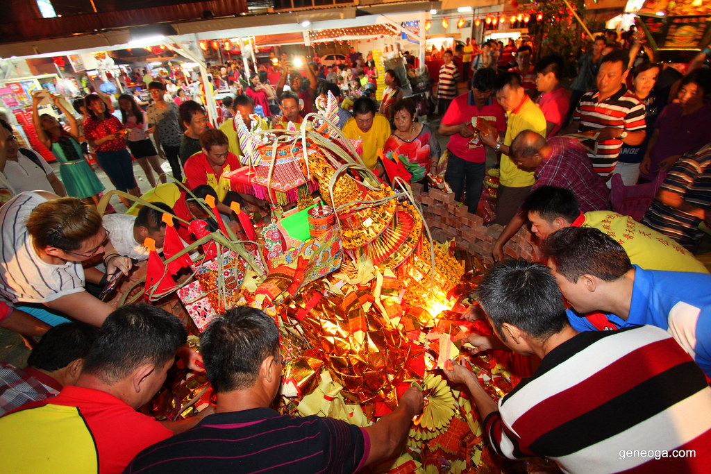 Jade Emperor Birthday Celebration at Chew Jetty Penang