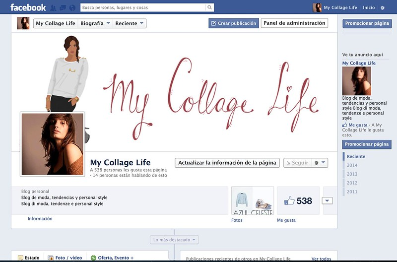 FACEBOOK MY COLLAGE LIFE