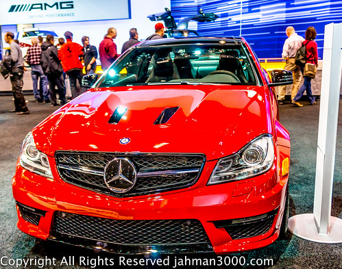 2014 Mercedes-Benz C63 AMG Edition 507 at the 2014 Chicago Auto Show by alfred.muirhead