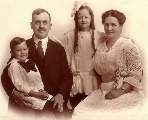Mattie Irene (Wisner) & Charles Anderson Family