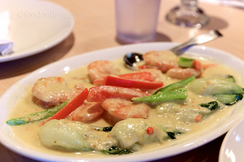 Coconut and Ginger Shrimp at Casa Manila
