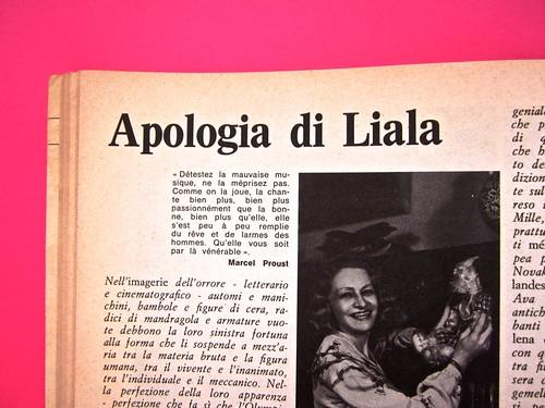 Alter Alter, marzo 1979, anno 6, numero 3. Direzione: Oreste del Buono, art director: Fulvia Serra. Pag. 48 (part.), 1