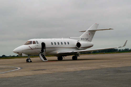 N107XP Hawker 900XP by Guernsey Airport Photography