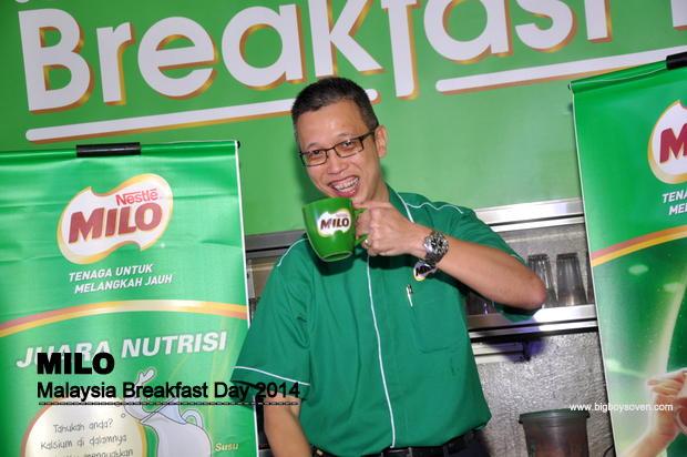 MILO Malaysia Breakfast Day 2014 5