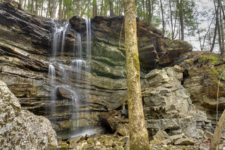 Blue Sink Falls, Savage Gulf, South Cumberland State Park, Grundy County, Tennessee