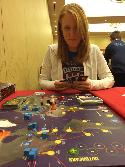 Pandemic with Julie at GameStorm 16