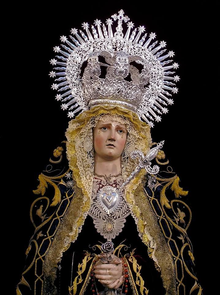 Corona y Daga para Nuestra Señora de las Angustias. Iglesia de San Pablo, Cádiz