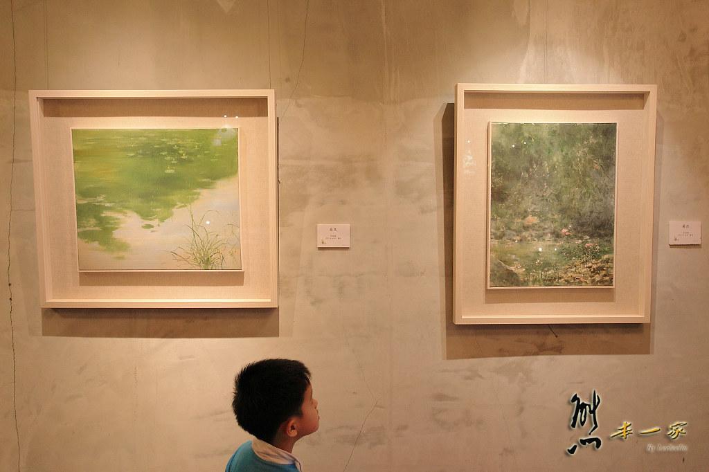 庶民美術館|吳冠德畫展|三峽老街藝文景點