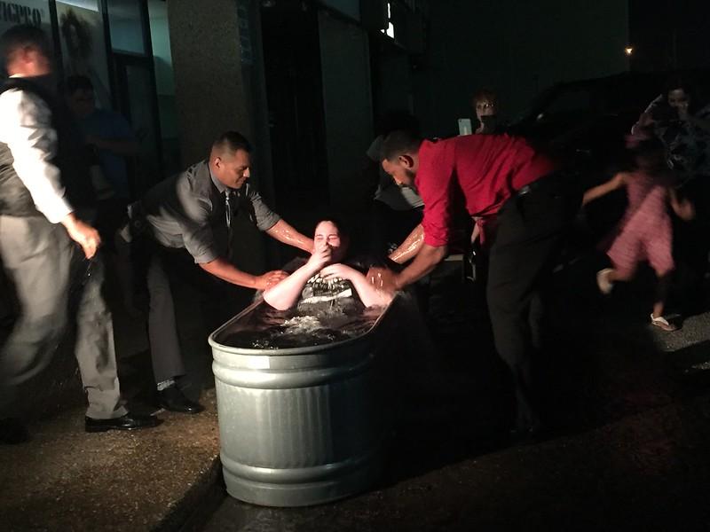 2017 Baptism 4 people got baptized!! Praise god