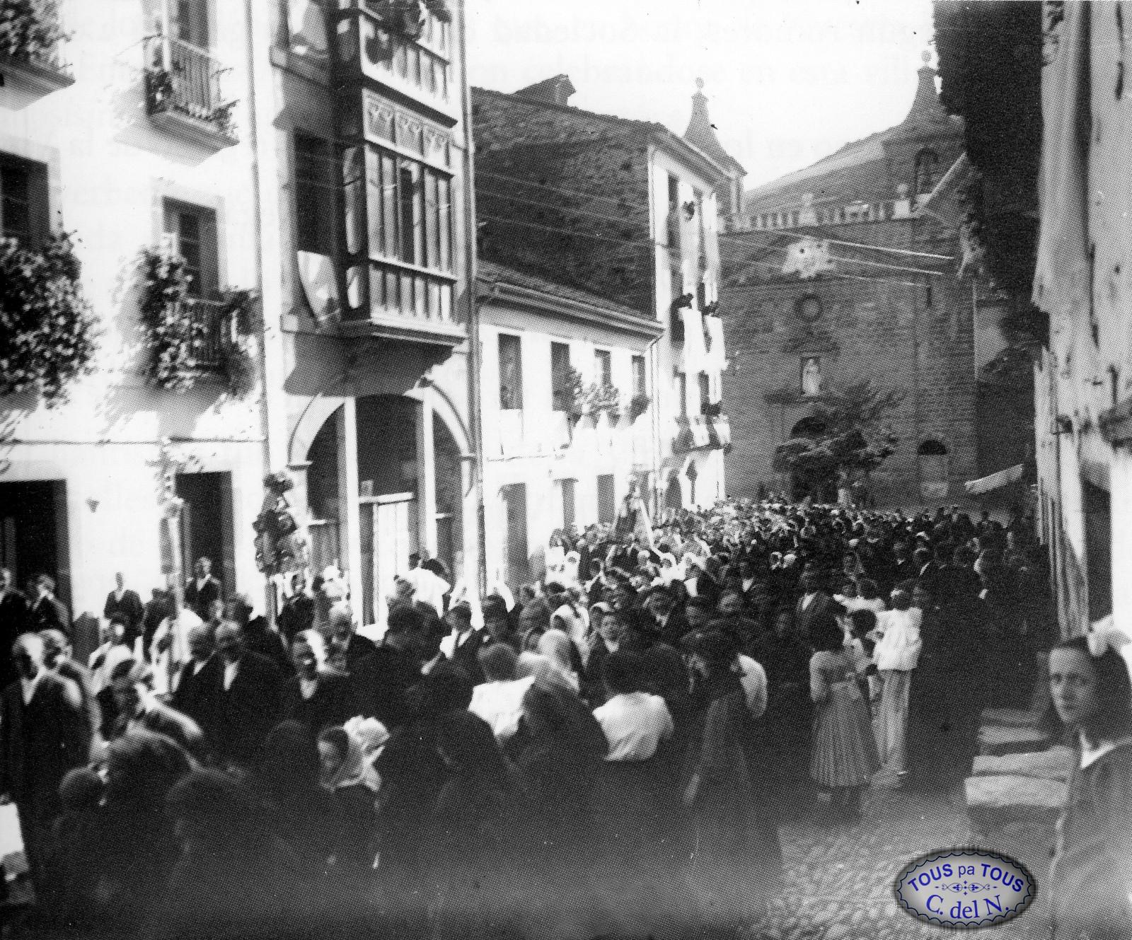 1915 - Procesión del Carmen
