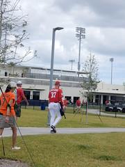 strasburg walks to the ballpark!