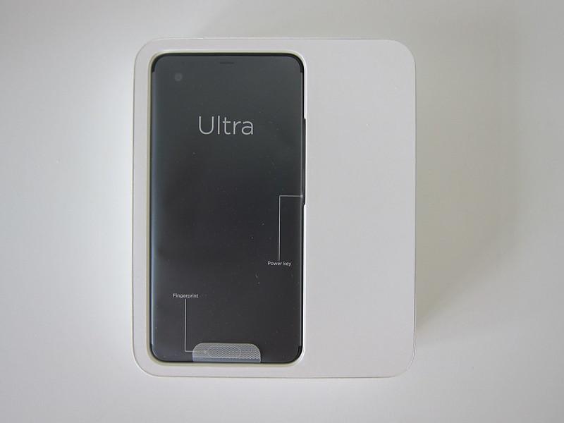HTC U Ultra - Box Open