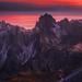 Devil's Peaks by albert dros