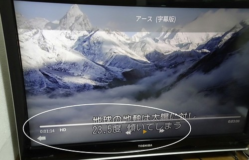 Wii U のAmazonビデオアプリ 早送り