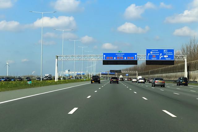 A2 Junction Holendrecht (Netherlands)