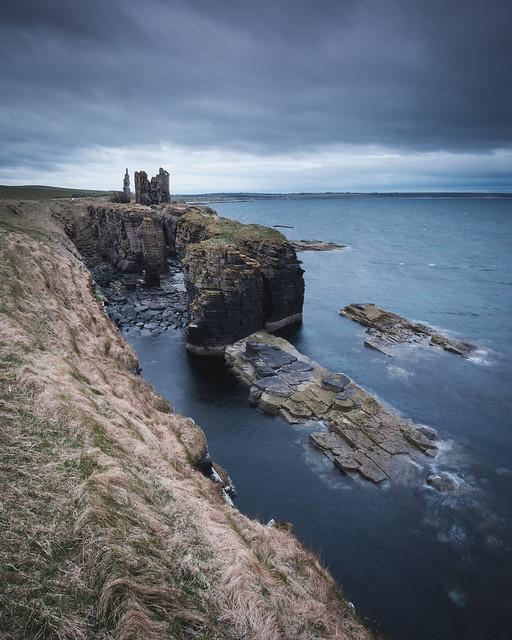 Castle Sinclair Girnigoe, Scotland, Fujifilm X-Pro2, XF14mmF2.8 R
