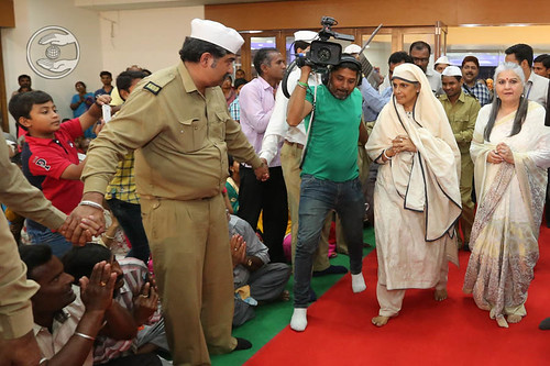 Arrival of Her Holiness in Satsang Hall