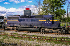 HLCX 6300 | EMD SD40-2 | NS Memphis District