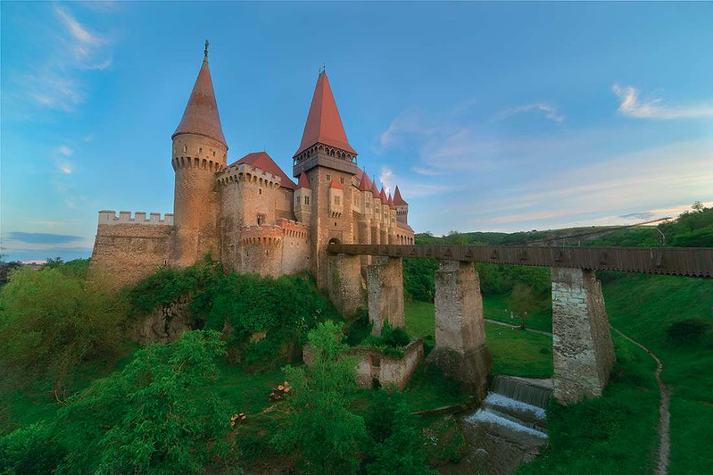 Daily Travel Photo - Corvin Castle (Hunedoara, Romania)
