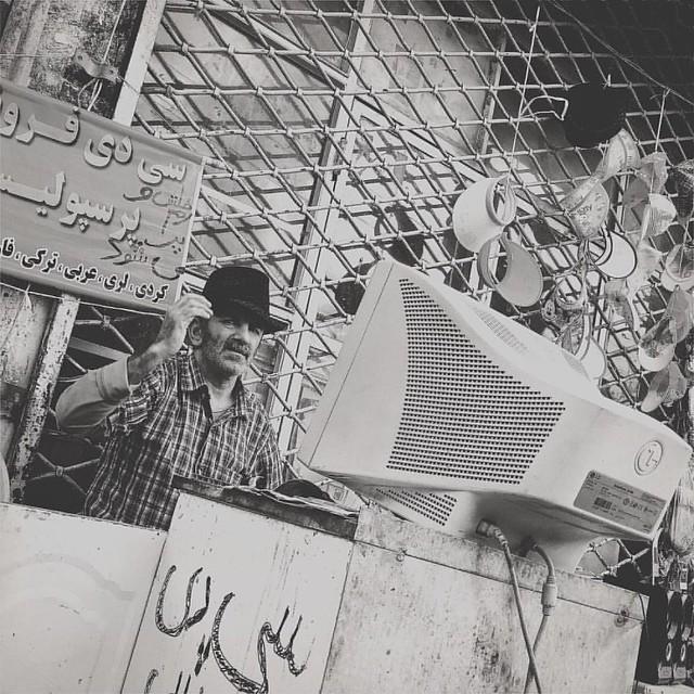 street music vendor