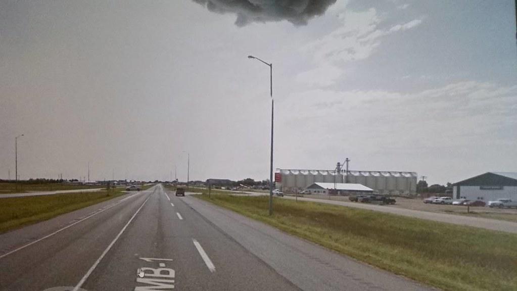 Arrived in Virden, Manitoba. #ridingthroughwalls #xcanadabikeride through #googlestreetview